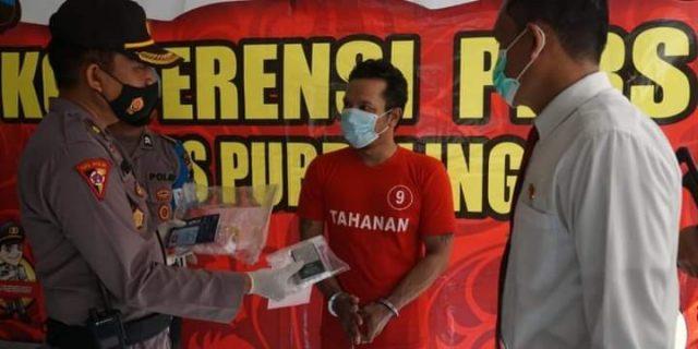 Polres Purbalingga Berhasil Ungkap Kasus Narkotika Jenis Sabu Seberat 14,44 gram
