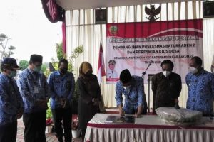 Bupati Banyumas Achmad Husen, Resmikan Kios Desa, Upaya Tingkatkan Perekonomian Rakyat