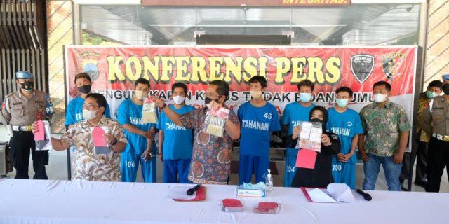 Ditreskrimum Polda Jateng Berhasil Ungkap Kasus Perdagangan Anak Dibawah Umur