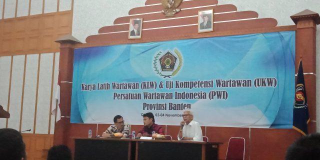 Menuju Wartawan Berkompeten Jurnalis Tangerang Raya Ikuti KLW Dan UKW