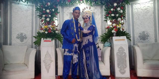 Pernikahan Nia Widia Sari dan Muhammad Haerul Anwar Berlangsung Meriah