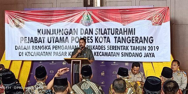 Camat Sindang Jaya : Calon Kades Harus Tampil Elegan Dengan Visi Misi Yang Menyentuh Masyarakat