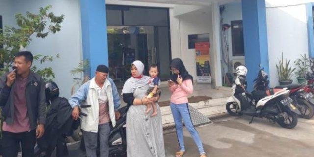 Merasa Tertipu Keluarga SN Datangi Kantor Dishub Kab Tangerang