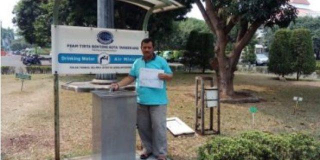 Demi Mensukseskan Festival Al-Azom PDAM Tirta Benteng Fasilitasi Keran Air Bersih Siap Minum