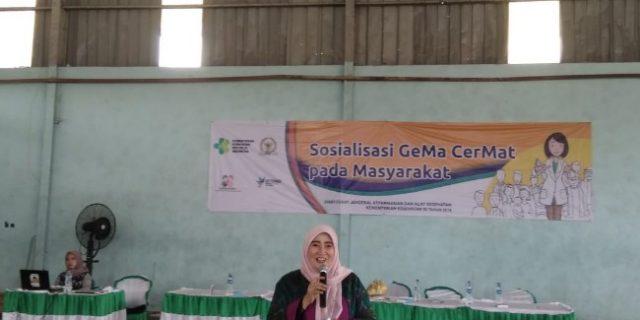 Dra. Hj. Siti Masrifah: Masyarakat Harus Berhati Hati Dalam Penggunaan Obat Tanpa Resep Dokter