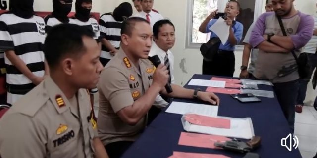 Ngaku Anggota Polisi Hingga Tipu Warga Akhirnya Diringkus Polres Kota Tangerang