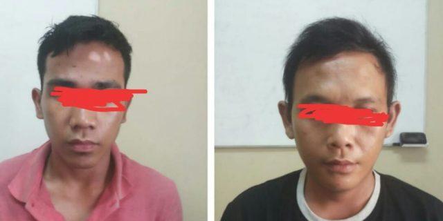 Dua Pelaku Pencongkel ATM BRI di Depan PT. Lung Cheong Brothers Industrial Digagalkan Polres Serang