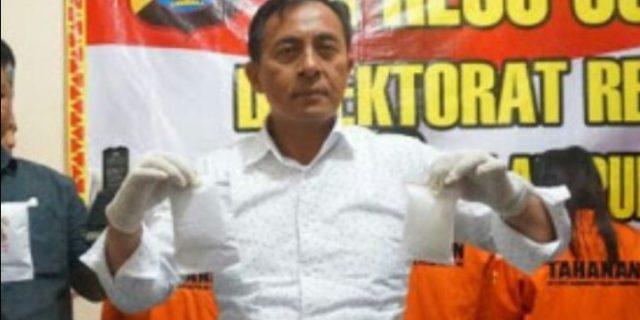 Satresnarkoba Polres Bandar Lampung Amankan Oknum PNS Pemda Tulang Bawang
