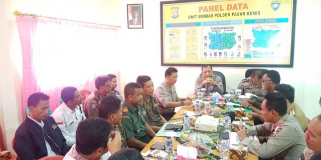 Karo Rena dan Kabid Humas, Pastikan persiapan pemilu di sejumlah kecamatan kabupaten Serang