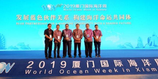 Wakil Bupati Tangerang Hadiri Kongres  World Congres Ocean Ke-8 Di Cina
