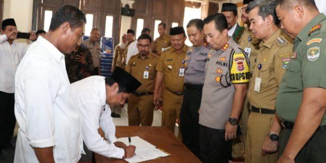 Polresta Tangerang Bentuk Satgas Untuk Mencegah Praktik Perjudian Pilkades