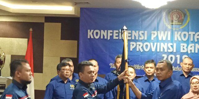 Pengurus PWI Kota Tangerang Priode 2019-2022 Resmi Dilantik