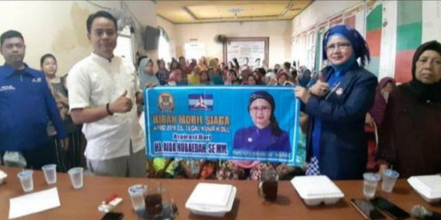 Oknum Anggota DPRDKab. Tangerang Tarik Mobil Siaga Desa Tegal Kunir Kidul