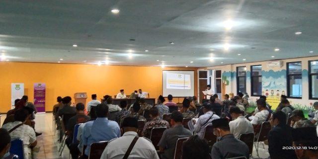 DPMPD Kab Tangerang Gelar Sosialisasi peningkatan kapasitas BPD