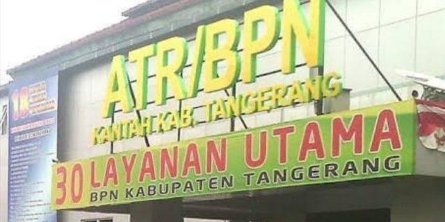Kusnaeni Keluhkan Kinerja BPN Kabupaten Tangerang