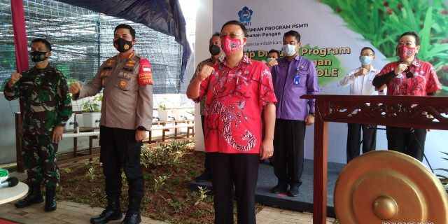 Camat Sindang Jaya H. Abudin, SIP. MM Hadiri Peresmian Hidrokole di PT. GGS