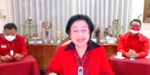 Ketum PDI Perjuangan Megawati : Partai Pukanlah Perusahaan Untuk Mencari Keuntungan