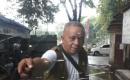 Hujan Disertai Angin, Mengakibatkan   Kaca Mobil Ketua SMSI Kota Tangerang Pecah