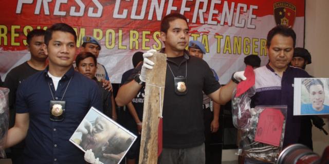 AR Diringkus Satreskrim Polresta Tangerang Terbukti Melakukan Pembunuhan