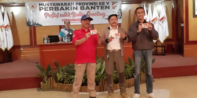 Eki Baihaki Jabat Ketum Perbakin Banten