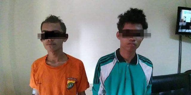 Duo Jambret yang Rampas Ponsel Wanita di Tambora Berhasil Diamankan Polisi